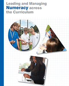 leading and managing numeracy across the curriculum