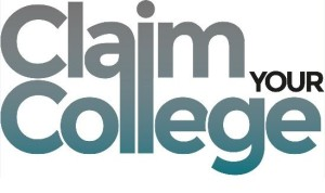 Claim your College logo