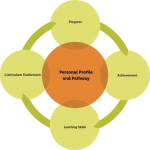 Figure 1: Personal profile and pathway
