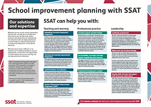 School improvement planning with SSAT