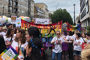 SSAT Pride in London review: marching to spread inclusivity