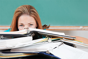 Teacher workload improving – but there's still a way to go