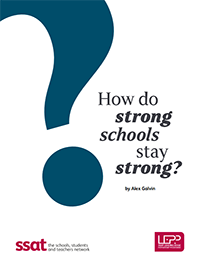 SSAT How do strong schools stay strong