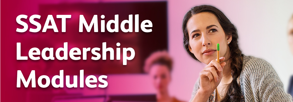 SSAT middle leadership modules