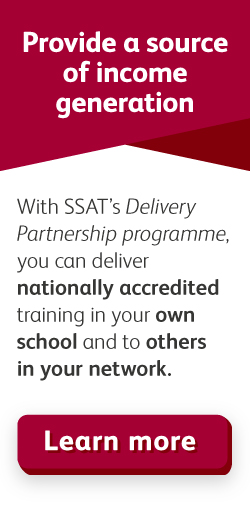 SSAT Delivery partnership – Provide a source of income generation