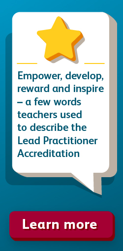 Lead Practitioner – Empower, develop, reward and inspire