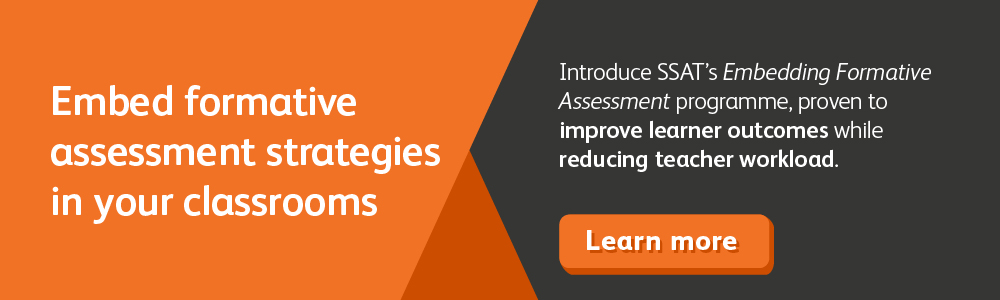 Embed formative assessment strategies in your classrooms